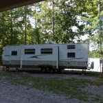 Side View RV for Rent at Soaring Eagle Campground