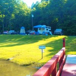 Lakefront Tent Camping Soaring Eagle Campground