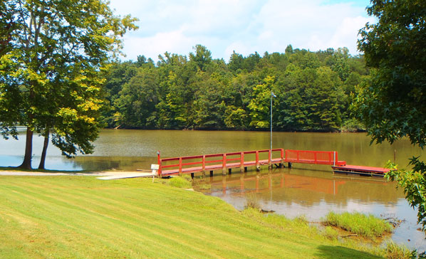 Boat Dock at Soaring Eagle Campground