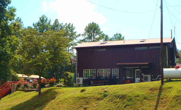 Country Store Side View at Soaring Eagle Campground